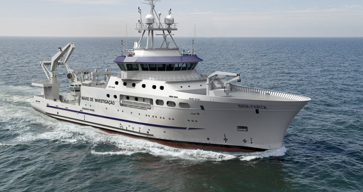 Skipsteknisk designs new research vessel for Angola