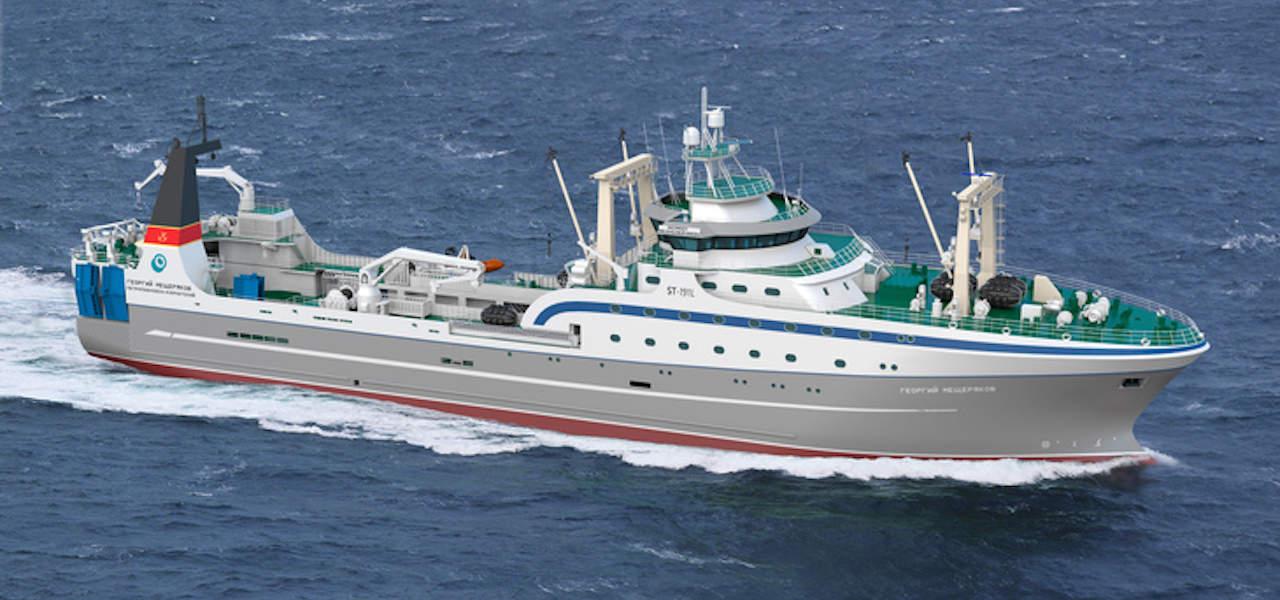 Okeanrybflot orders second factory trawler