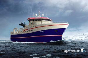 The Skipsteknisk-designed Regina C is to be built in Vigo - @ Fiskerforum
