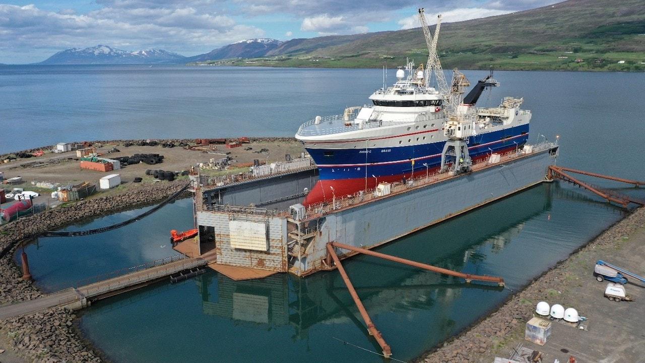 Busy summer at Akureyri shipyard