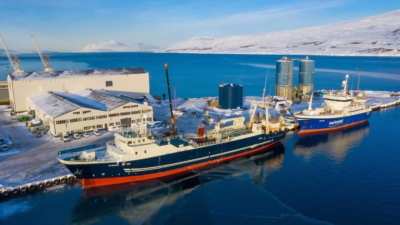 Traffic at Akureyri shipyard