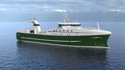 Icelandic factory deck for new Nergård Havfiske trawler