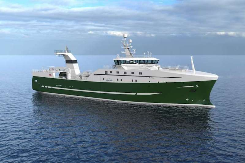 Icelandic factory deck for new Nergård Havfiske trawler