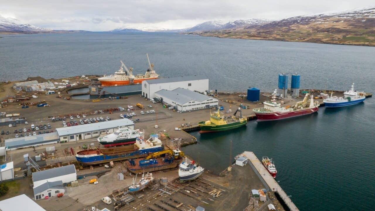 Read more about the article Spring brings pelagic fleet to Akureyri yard