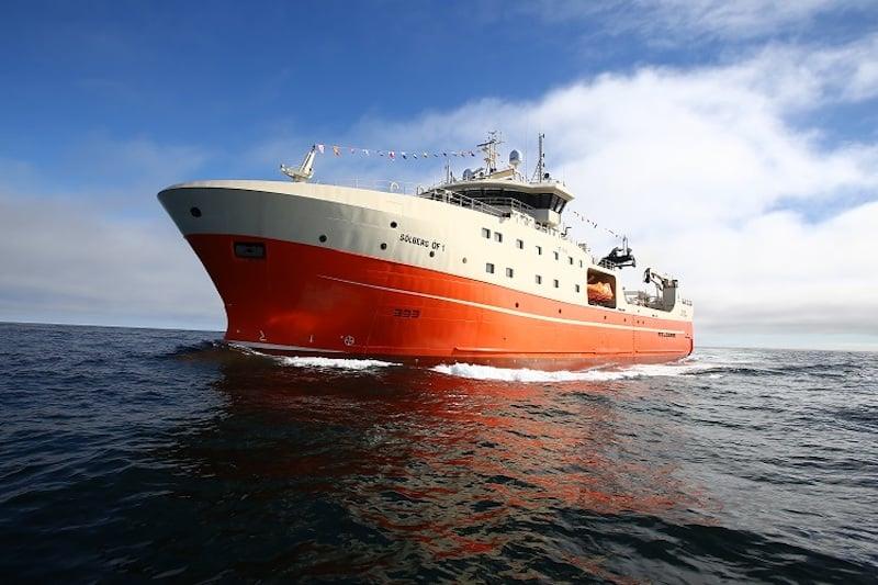 Freezer trawler's record trip