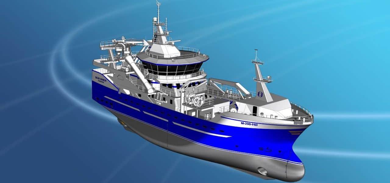 Stadyard to build new purser/trawler for Skår Senior AS