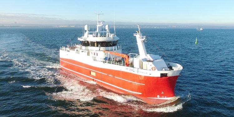 Stormur on sea trials - @ Fiskerforum