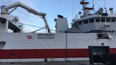 Thyborøn industrial trawler replaced