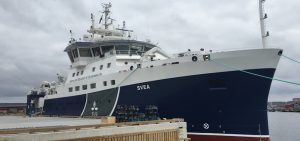 Armon delivers Swedish research vessel