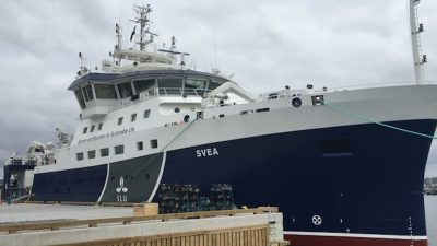 Armon delivers Swedish research vessel