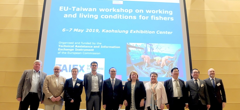 Taiwan workshop on fishermen's working and living conditions