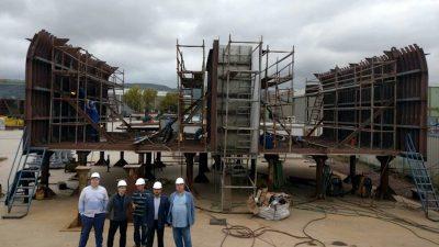 Crabber construction starts at Tersan