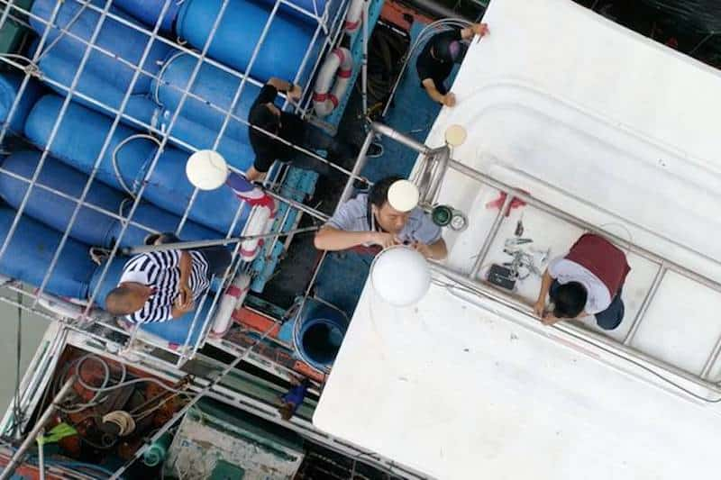 Digital technology combatting IUU fishing