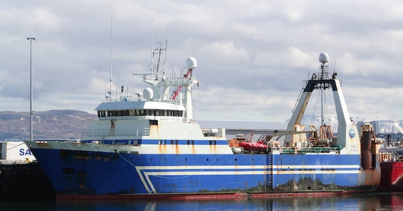 Heavy fines for Icelandic trawlers