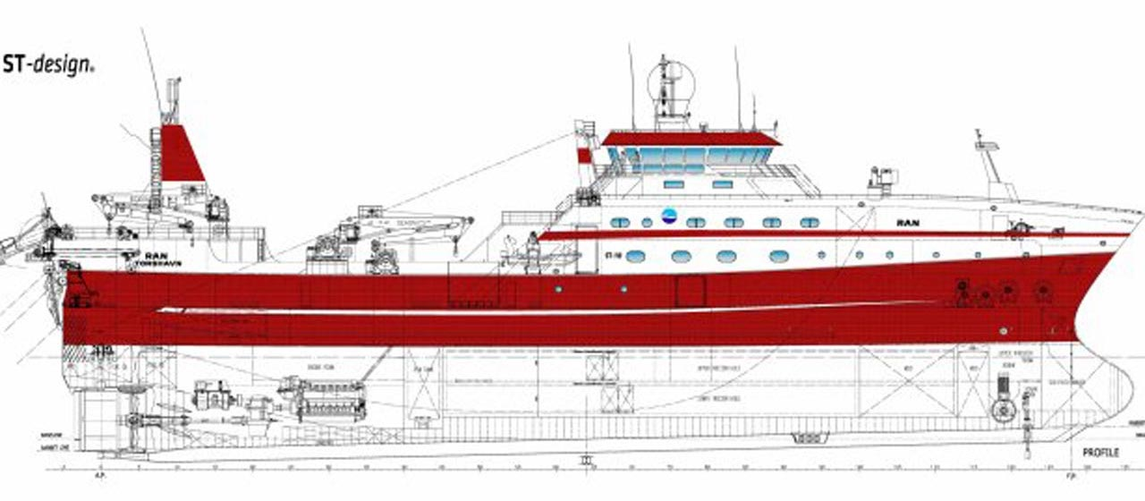 Faroese operator prepares for new trawler - FiskerForum