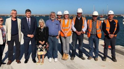 Oxen Cove Jetty boosts Brixham's landing capacity