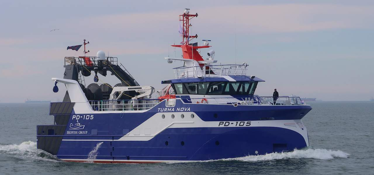 New hybrid trawler/seiner offered for sale