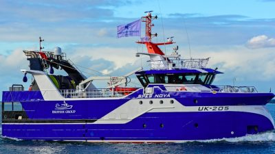Spes Nova UK-205 christened in Scheveningen