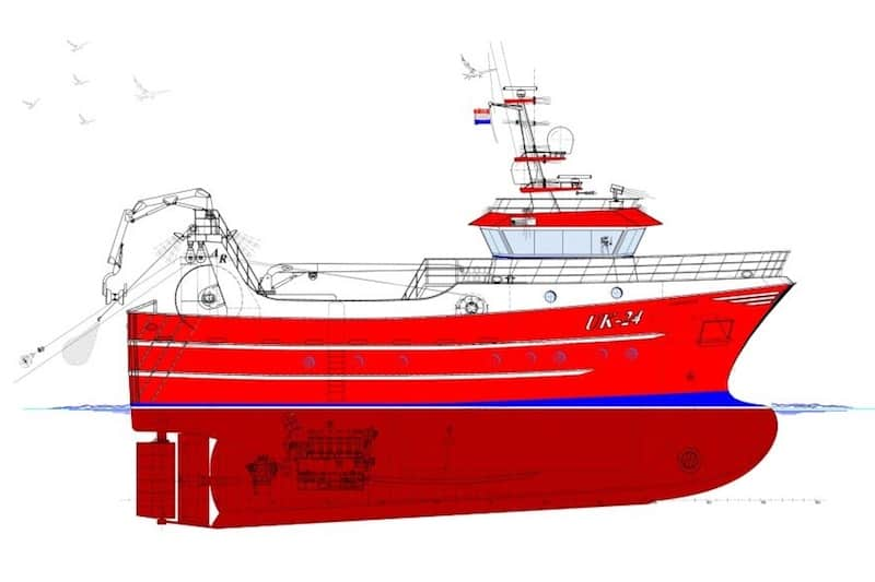 Twin-rigger order for Hoekman Shipbuilding