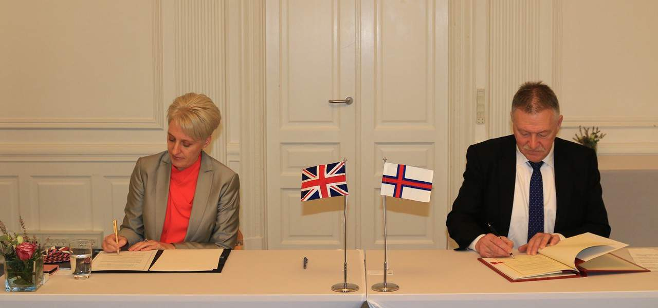 Faroese-UK fisheries agreement signed