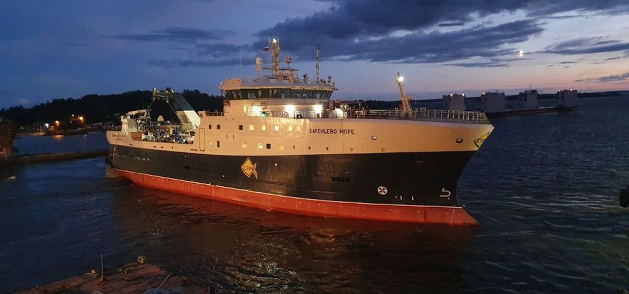First sea trials for Arkhangelsk trawler