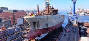 First Russian Fishery Company trawler launched