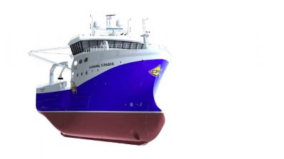 Five crabber contract for Russian yard
