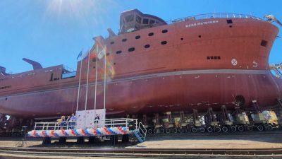 Vyborg yard launches latest factory trawler