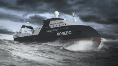 St Petersburg yard cuts steel for third in trawler series