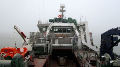 Sea trials in China