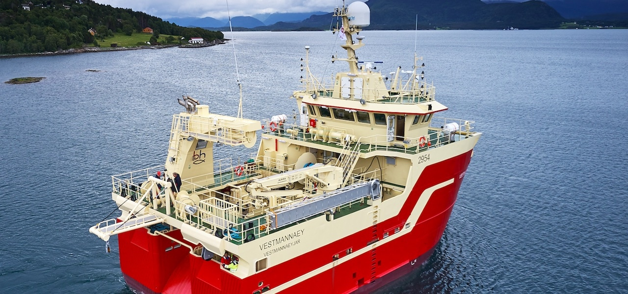Export Credit Norway finances Icelandic trawler series
