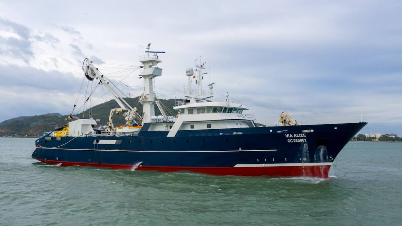 Piriou delivers new tuna purse seiner