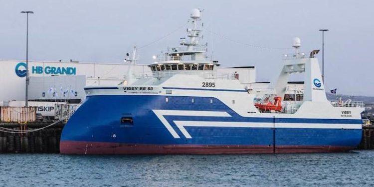 Fresher trawler Viðey RE-50. Image: HB Grandi: Kristján Maack - @ Fiskerforum