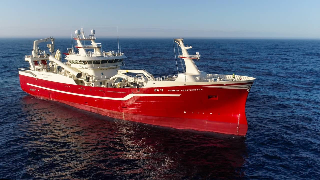 Easter homecoming for Iceland's pelagic flagship