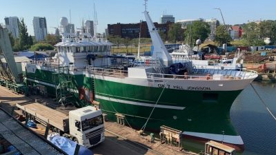 Longliner for Iceland close to completion in Gdansk