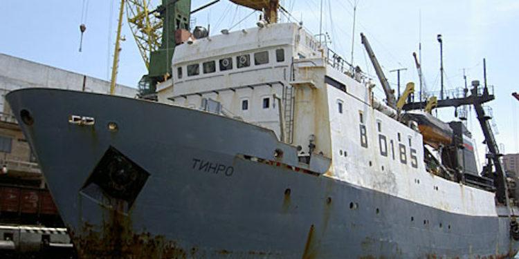 Vladivostok Sea Fishing Port - @ Fiskerforum