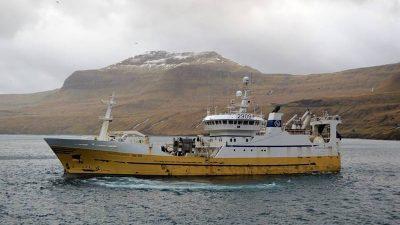 Capto gear for Icelandic trawler