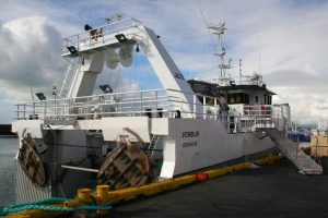 Vörður is one of the two trawlers acquired by FISK Seafood from Gjögur - @ Fiskerforum