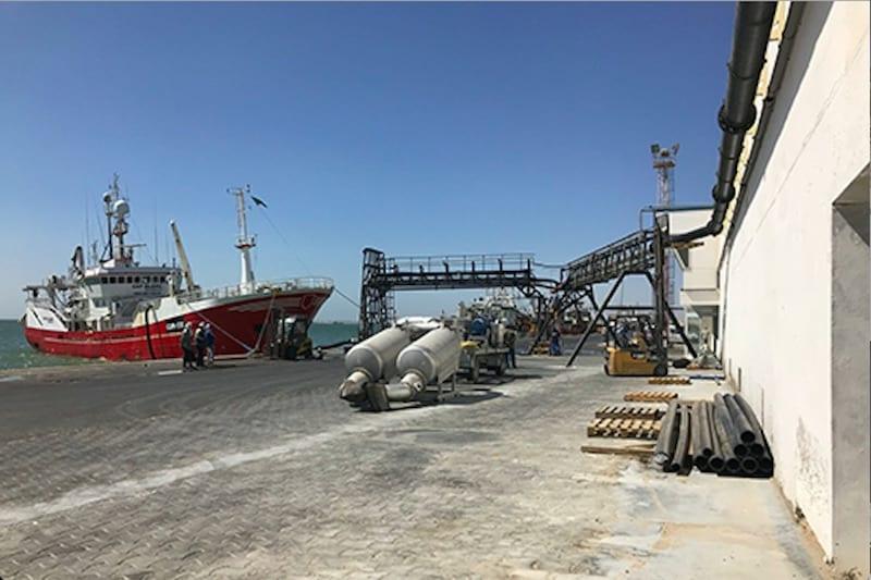 Cornelis Vrolijk invests in Nouadhibou processing plant