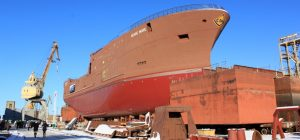 Vyborg launches third Arkhangelsk trawler