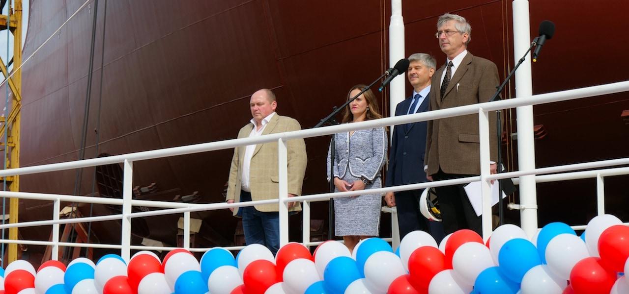 Vyborg launches Nord Pilgrim's lead trawler