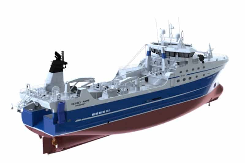New factory trawler keel laid at Vyborg Shipyard