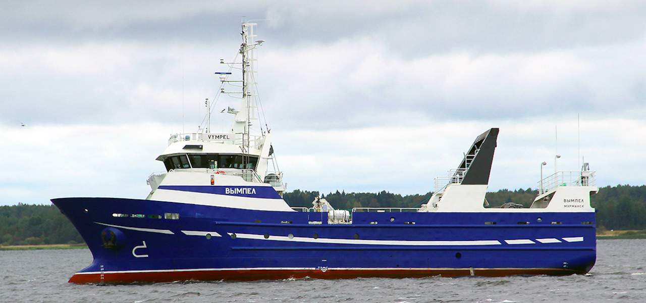 First new coastal trawler for Russia