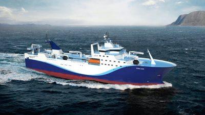 Kaliningrad yard to build factory trawler