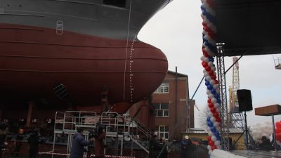 Yantar launches first of Kamchatka pelagic trio
