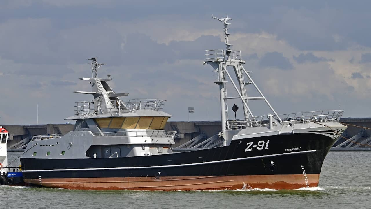 New beamer delivered to Stellendam for outfitting