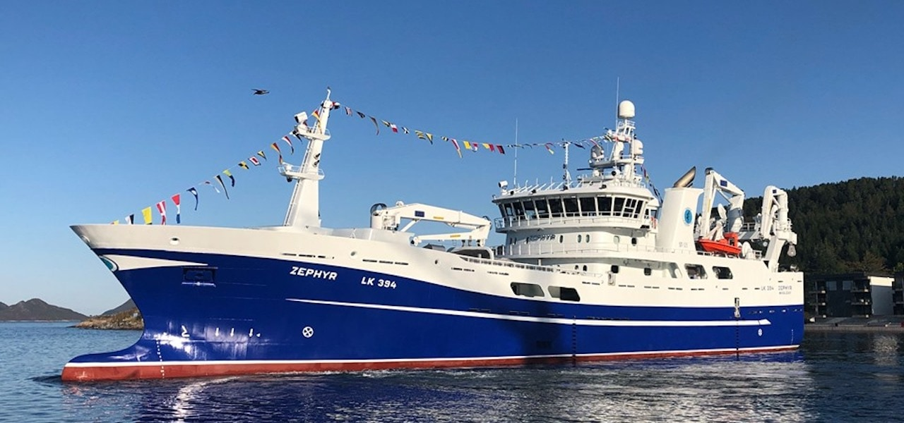 Zephyr delivered to Shetland owners