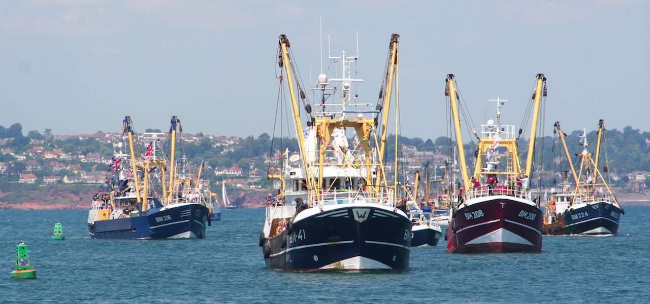 British fishing's billion pound turnover