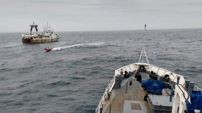 Argentina arrests Portuguese trawler