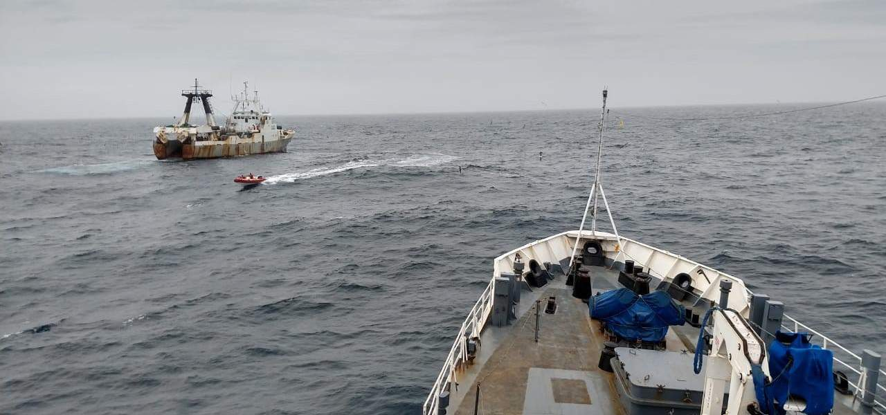 Read more about the article Argentina arrests Portuguese trawler